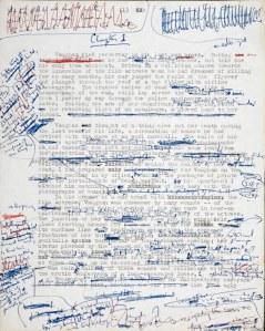 саморедактирование рукописи
