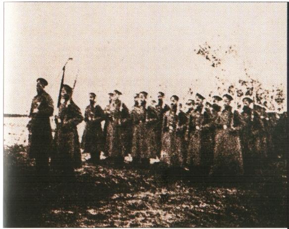 Кино 11 Сводно-Офицерский полк Добрармии выступает в Ледяной поход. Февраль 1918 г