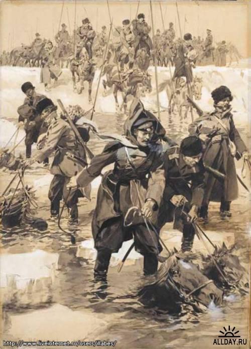 Кино 13 22 февраля 1918 г. начался знаменитый Ледяной поход (1-й Кубанский) от Ростова-на-Дону до Екатеринодара с жестокими боями