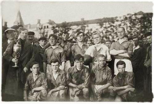 Обитель, время, футбольная команда ЦСКА в 1920-х