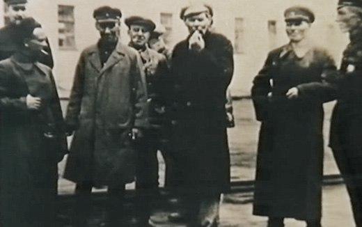 Обитель. Горький на Соловках, 1929 год.
